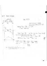 Notes 10 Beam Design