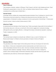 Humanaties research paper