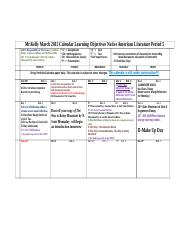 2011_Spring_March_Calendar_Period_5_Native_American_Literaature_Learning_Objectives.doc