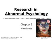 abnormal chapter 2