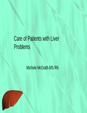 Care of Patients with Liver Problems My PP Ch 58 Master.pptx