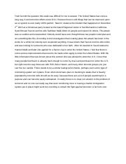 counter terrorism thesis statement Get some fresh ideas for writing thesis statement for terrorism research paper along with qualities of writing a thesis statement for on counter terrorism in.