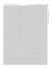 Round brick stitch graph paper (New)