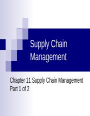 SCM_Ch 11 Supply Chain Part 1-1.ppt