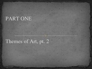 Lesson 03 - Themes of Art.pt02
