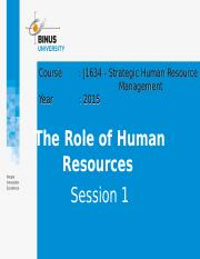 J16340000120153001Session 1- J1634 - Strategic Human Resource Management