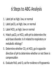 6 Steps to ABG Analysis.pptx