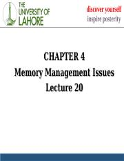 lecture 20 memory management.ppt