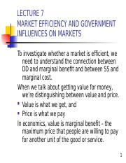 Lecture 7 Market Efficiency.ppt