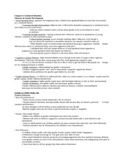 Psych. of Women- Exam 2 Study Guide