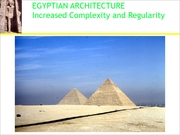 egyptian architecture lecture