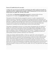 "collaboration and innovation at procter gamble case study answers Case study | procter & gamble collaborative process software americas: - teresa parry, innovation guide procter & gamble ""thinktank is."