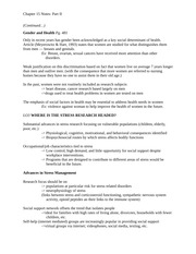 Ch. 15 Notes- Part II