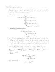 MATH 302 Fall 2014 Assignment 8 Solutions