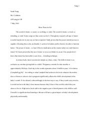 (12) Reasearch Essay