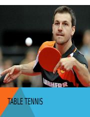 Ping Pong - Table Tennis Power Point Presentation.ppt