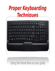 Proper Keyboarding Techniques (1).ppt