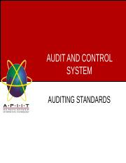 Week 2 - Auditing standards.ppt