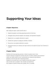 COM_113_CH_8_SUPPORTING_YOUR_IDEAS_OUTLINE