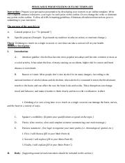 persuasive outline template