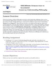 OLEAD100: Introduction to Leadership Lesson 4.pdf