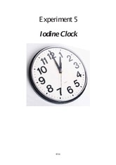 iodine clock coursework