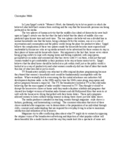 Touch of evil essay