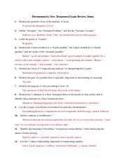 Hermeneutics Nw test Exam Review (1).docx