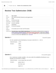 Review Test Submission: Ch06