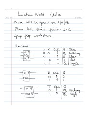Lecture Notes 1_31_08