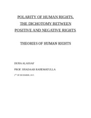 Polarity of Human Rights