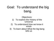 Lecture 13- Big Bang Theory