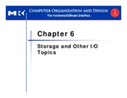 Lecture 13 Storage and Other IO Topics
