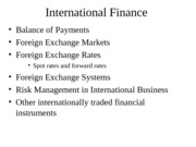 InternationalFinance