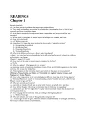 Chapter 1 Reading Questions