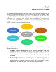 task 1 global operations