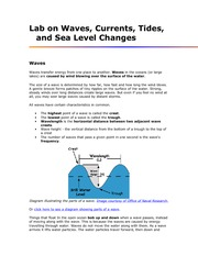 chapter 9 Lab on Waves and Sea