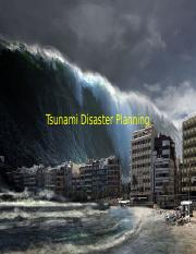 Disaster Planning