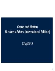Lecture 9 Suppliers, Competitors, and Business Ethics.ppt