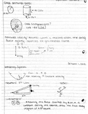 Interacting Systems Notes
