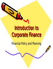 Introduction to Corporate Finance.ppt