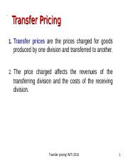 TRANSFER PRICING MODULE.ppt