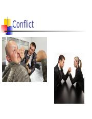Lecture 05 - Conflict.pptx