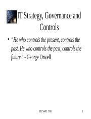 03 - IT Strategy, Governance and Controls.ppt