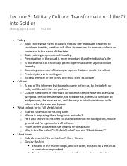 Lecture 3 Military Culture Transformation of the Citizen into Soldier.pdf