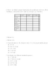 Take-Home Function Review - Math 230 - Spring 2012 (Davidson College)