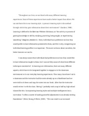 Journal Essay-Learning Styles.doc