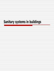 Lecture 2 (Sanitary systems in buildings).ppt
