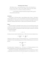 Math 602 - Riemann-Roch Theorem