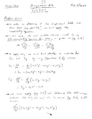 Mech320-Assign-2-Solutions